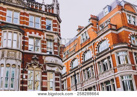 London, United Kingdom - August 23rd, 2018: Architecture In London City Centre In Mayfair