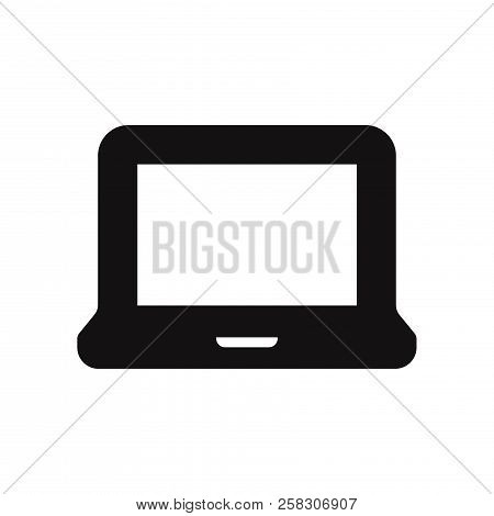 Laptop Icon Isolated On White Background. Laptop Icon In Trendy Design Style. Laptop Vector Icon Mod