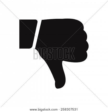 Dislike Icon Isolated On White Background. Dislike Icon In Trendy Design Style. Dislike Vector Icon