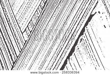 Grunge Texture. Distress Black Grey Rough Trace. Appealing Background. Noise Dirty Grunge Texture. V