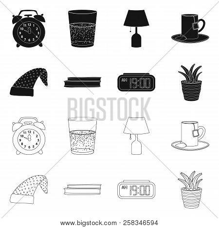 Vector Illustration Of Dreams And Night Logo. Collection Of Dreams And Bedroom Stock Vector Illustra