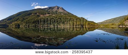 Mountain Reflection At Griffin Lake British Columbia