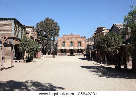 Street In Western Town