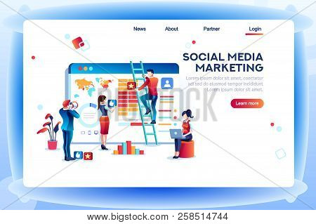 Social Media Marketing Development, Customer Analysis, Content Analytics. Analyzing Professional Aud