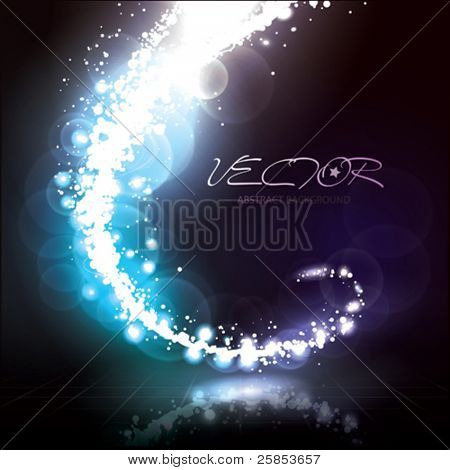 Vector Abstract Lights Effect