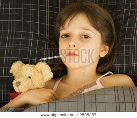 Young Sick Girl