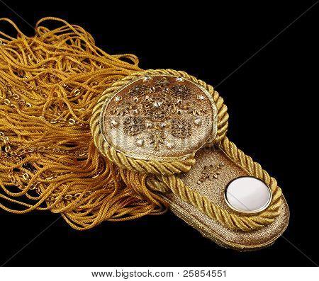 Decorative Golden Epaulet
