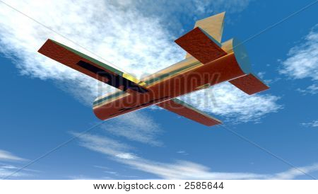 Solid Brass Plane