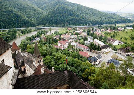 Oravsky Podzamok Village In Dolny Kubin - Slovakia