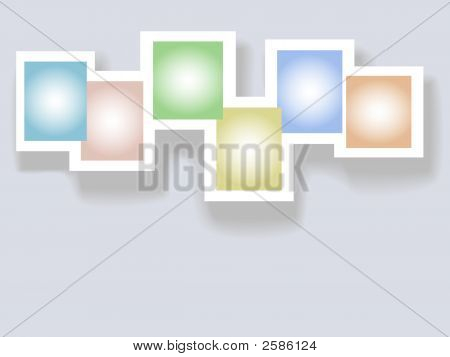 Six Complementary Colors Copyspaces In Frames