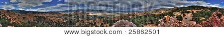 Geiger Lookout Wayside Park Nevada Panorama