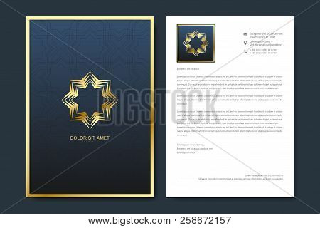 Elegant Letterhead Vector & Photo (Free Trial) | Bigstock