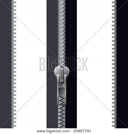 grey zipper