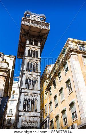 The Santa Justa Lift (portuguese: Elevador De Santa Justa), Also Called Carmo Lift Is An Elevator/li