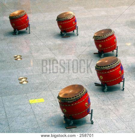 Chinese Drum Set