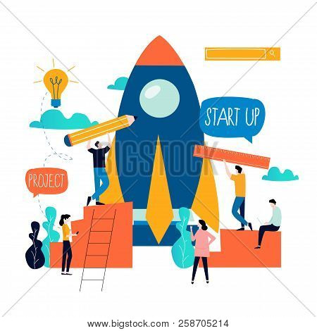 Business Project Start Up Process, Start Up Idea Launching, Project Management, Start Up Launch Team