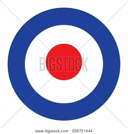 Target For Archery On Transparent Background