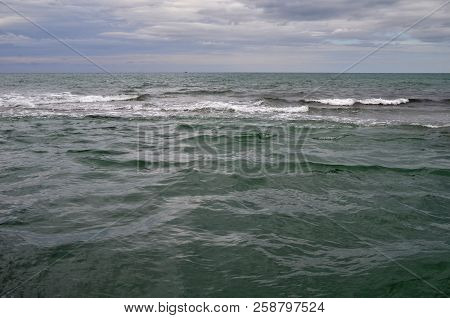 View Of The Beach In The Sochi, Russia