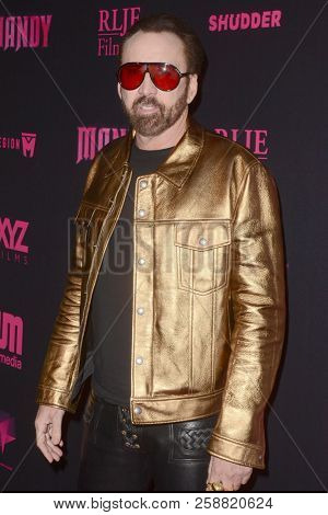 LOS ANGELES - SEP 11:  Nicolas Cage at the