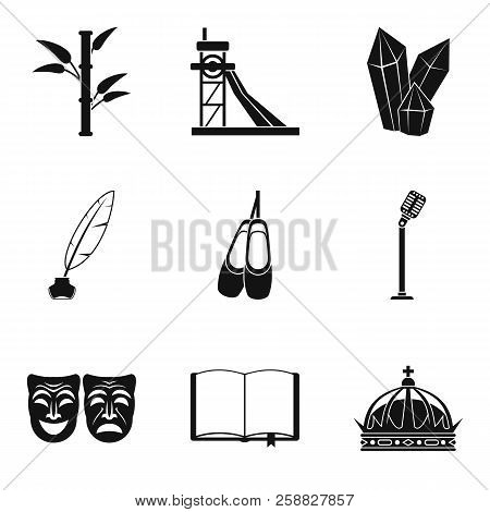 Finding Icons Set. Simple Set Of 9 Finding Icons For Web Isolated On White Background