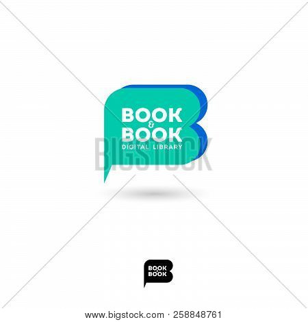 Book Book Logo B Vector Photo Free Trial Bigstock