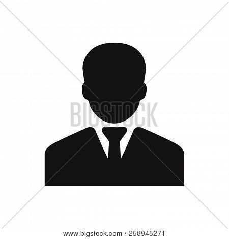 Businessman Icon Isolated On White Background. Businessman Icon In Trendy Design Style. Businessman