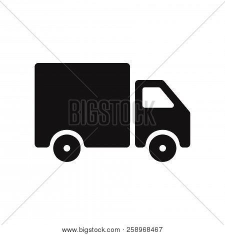 Delivery Truck Icon Isolated On White Background. Delivery Truck Icon In Trendy Design Style. Delive