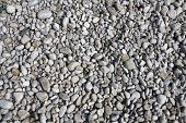 sea beach white and gray pebble background poster