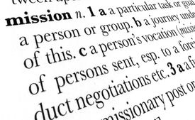 Mission Word Dictionary Term