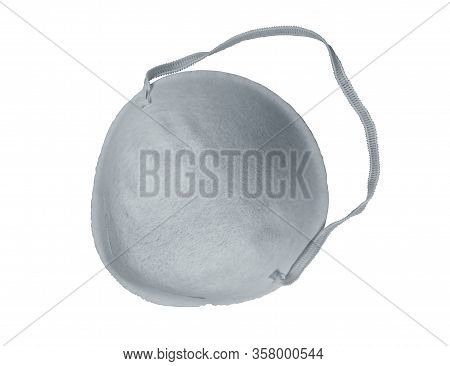 Protective Mask, Isolated On White Background. Clipping Path Included.