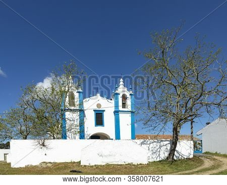 Old Church Nossa Senhora Da Cola In Enrique, Algarve, Portugal