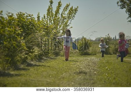 Children Play Outdoors 44