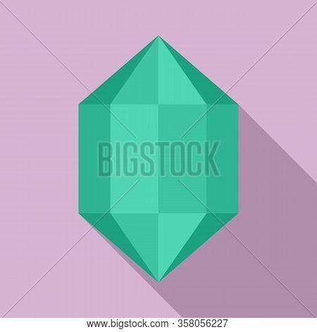 Luxury Jewel Icon. Flat Illustration Of Luxury Jewel Vector Icon For Web Design