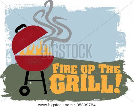 Fire Up The Backyard BBQ Grill