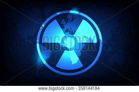 Biological Weapons Background, Biological Weapons Concept, Futuristic Digital Innovation Background