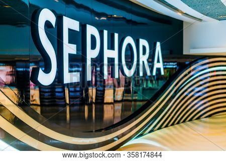 Sephora Shop, A French Chain Of Personal Care And Beauty Stores