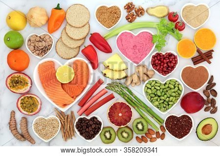 Healthy heart food that also boosts the immune system with health foods high in fibre, antioxidants, vitamins, omega 3 & protein. Supports the cardiovascular system with low GI for diabetics.