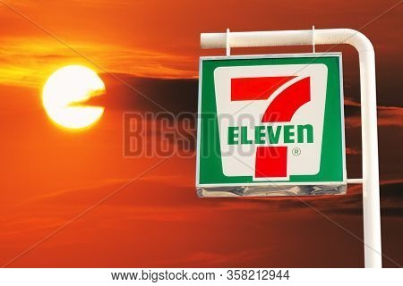 7-eleven Logo 7-11 Logo Items And Thousands Of Branches In Thailand That Mok 7 Thailand Bangkok, Tha
