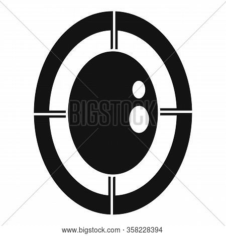 Game Jewel Icon. Simple Illustration Of Game Jewel Vector Icon For Web Design Isolated On White Back