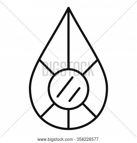 Jewel Shape Icon. Outline Jewel Shape Vector Icon For Web Design Isolated On White Background