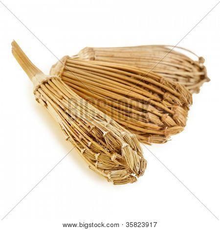 toothpick plant , ammi visnaga (Apiaceae) isolated on a white background