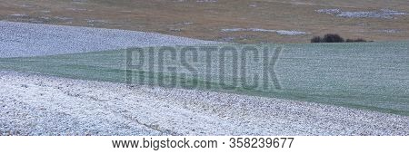 Rural Landscape Of Turiec Region In Northern Slovakia.