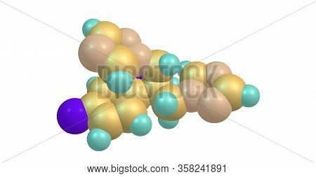 Fluconazole Is An Antifungal Medication Used For A Number Of Fungal Infections. 3d Illustration