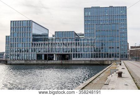 Aarhus, Denmark - 24 March 2020: Bestseller Building In Aarhus. Bestseller Is A Privately Held Famil