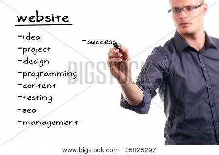 Website-Entwicklungsprojekt