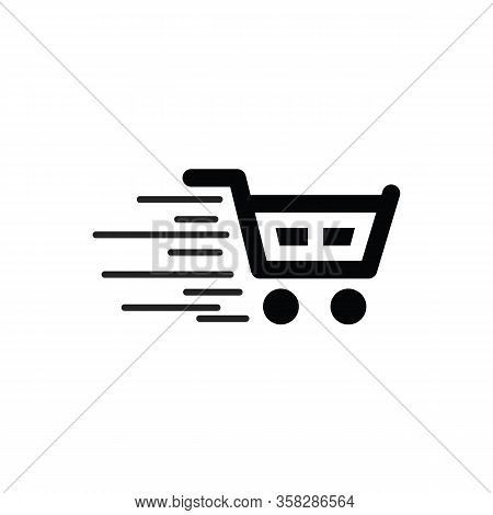 Shopping Cart Icon. Shopping Cart Icon Vector, Shopping Cart Eps10, Trolley Logo, Shopping Cart Logo
