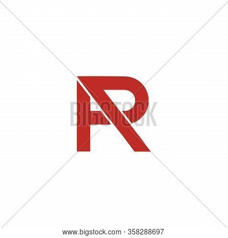 Pr P R Logo Simple And Templates, Symbol