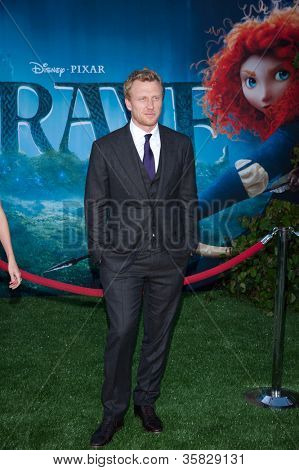 HOLLYWOOD, CA - JUNE 18: Kevin McKidd arrives at the Los Angeles Film Festival premiere of 'Brave' at Dolby Theatre on June 18, 2012 in Hollywood, California.