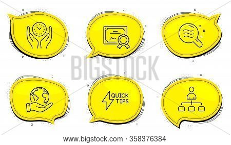 Skin Condition Sign. Diploma Certificate, Save Planet Chat Bubbles. Management, Safe Time And Quicks