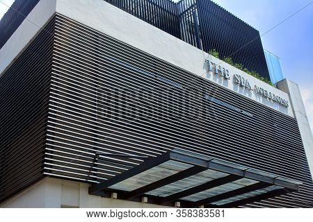 Taguig, Ph - Oct. 1: The Spa Wellness Facade On October 1, 2016 In Taguig, Philippines. The Spa Is A